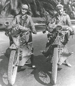 Shoutout to the Van Buren sisters, who rode across the country on motorcycles by themselves 100 years ago.