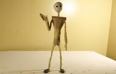 Robot Stop motion animation test shots
