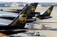 UPS sees higher profit as revenue grows
