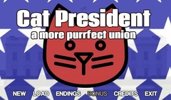 """Choose the next """"Purrsident"""" in the wacky visual novel 'Cat President ~A More Purrfect Union~"""