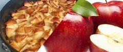 Tarta de manzana light: rica, rica y con pocas calorías