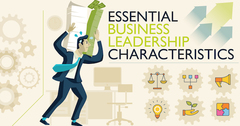 [Infographic] Essential Business Leadership Characteristics | Young Upstarts