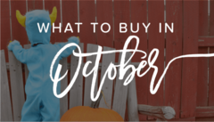 Shopping Deals in October | The Best Things to Buy in October