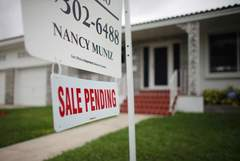 There was a surprise drop in September home sales as buyers were priced out
