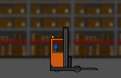Forklifts don't do this...