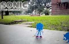 A Sonic the Hedgehog Paper Stopmotion