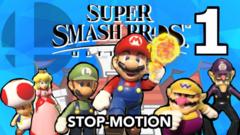 Super Smash Bros Stop-Motion- Episode 1