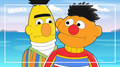 The Titanic but with Bert and Ernie