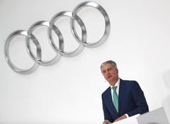 Audi CEO says diesel crisis not over and vows to stay on: report