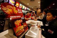 McDonald's U.S. same-restaurant sales beat estimates