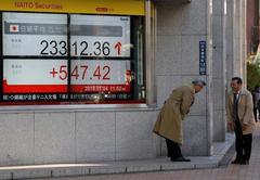 World shares snap 5-day losing streak on China policy easing