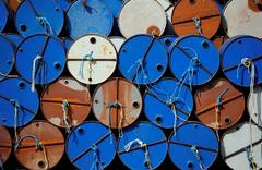 Oil higher on Middle East, North Sea supply worries