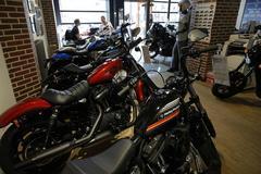 Harley-Davidson profit tops estimates as Trump weighs in