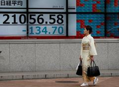 Asia stocks welcome trade talks, euro on defensive