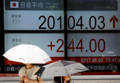 Dollar recovers from 13-month low on strong PMI readings, Asia stocks subdued