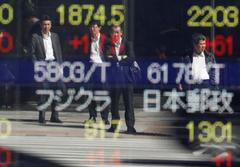 Asian shares hover near recent highs; China Congress eyed