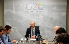 G20 calls for stepped-up trade dialogue; no agreement on path forward