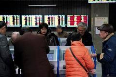 Asia shares lurch lower, flu concerns a possible culprit
