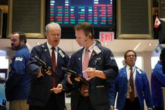Wall Street falls as Fed minutes send bond yields higher