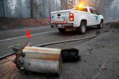 PG&E reports another outage on morning when California fire started