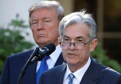 Exclusive: Trump says Fed shouldn't hike rates, but calls Powell 'a...