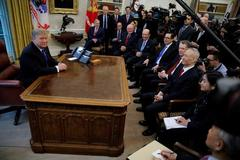 Trump says he's inclined to extend China trade deadline and meet Xi...