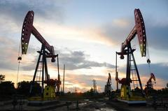 Oil dips as U.S. stocks build; output cut prospects give support