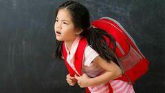 Watch Their Backs — Don't Overload Those Schoolbags